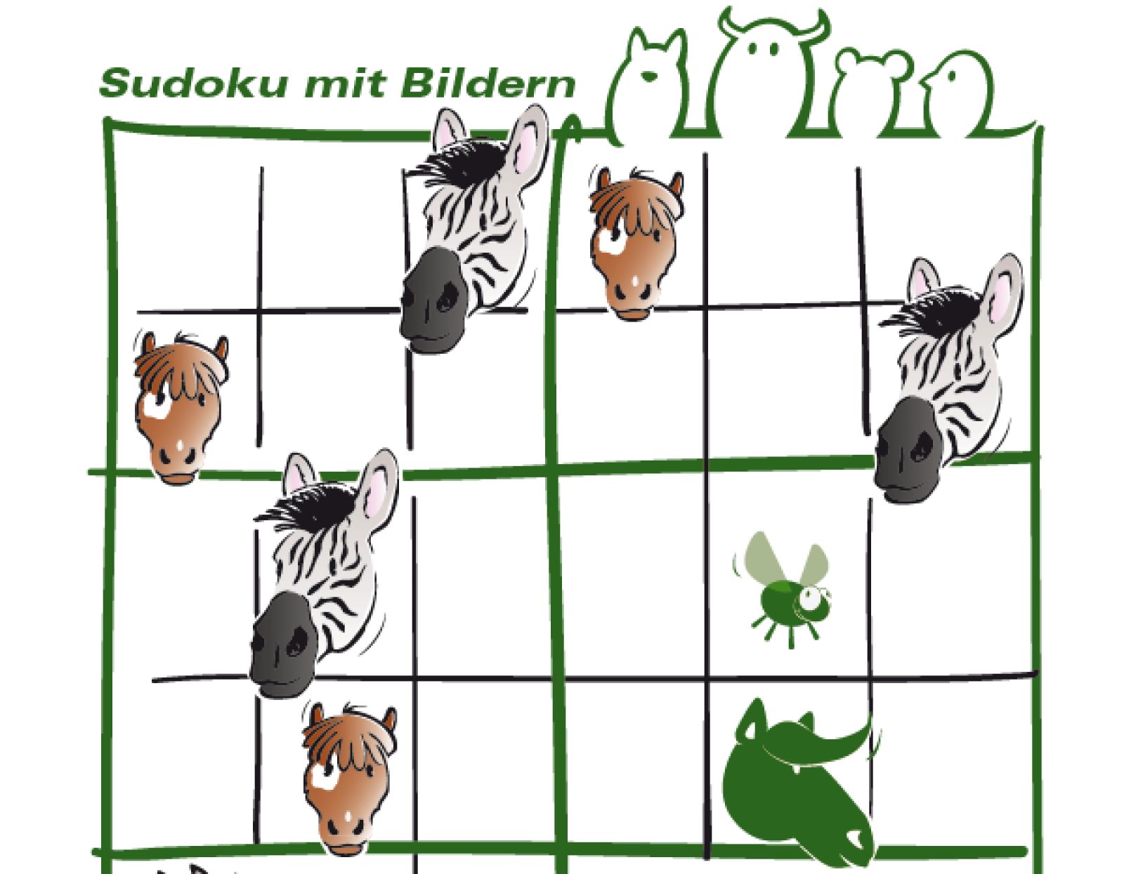 Sudoku Pferde - Tierschutz macht Schule