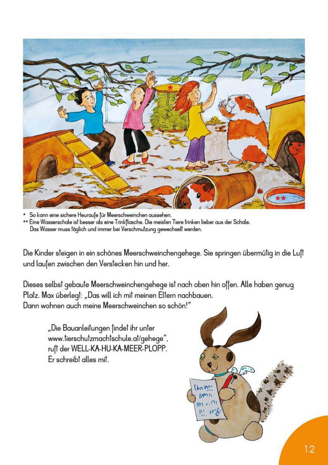 Versteh die Kaninchen und Meerschweinchen mit dem WELL-KA-HU-KA-MEER ...